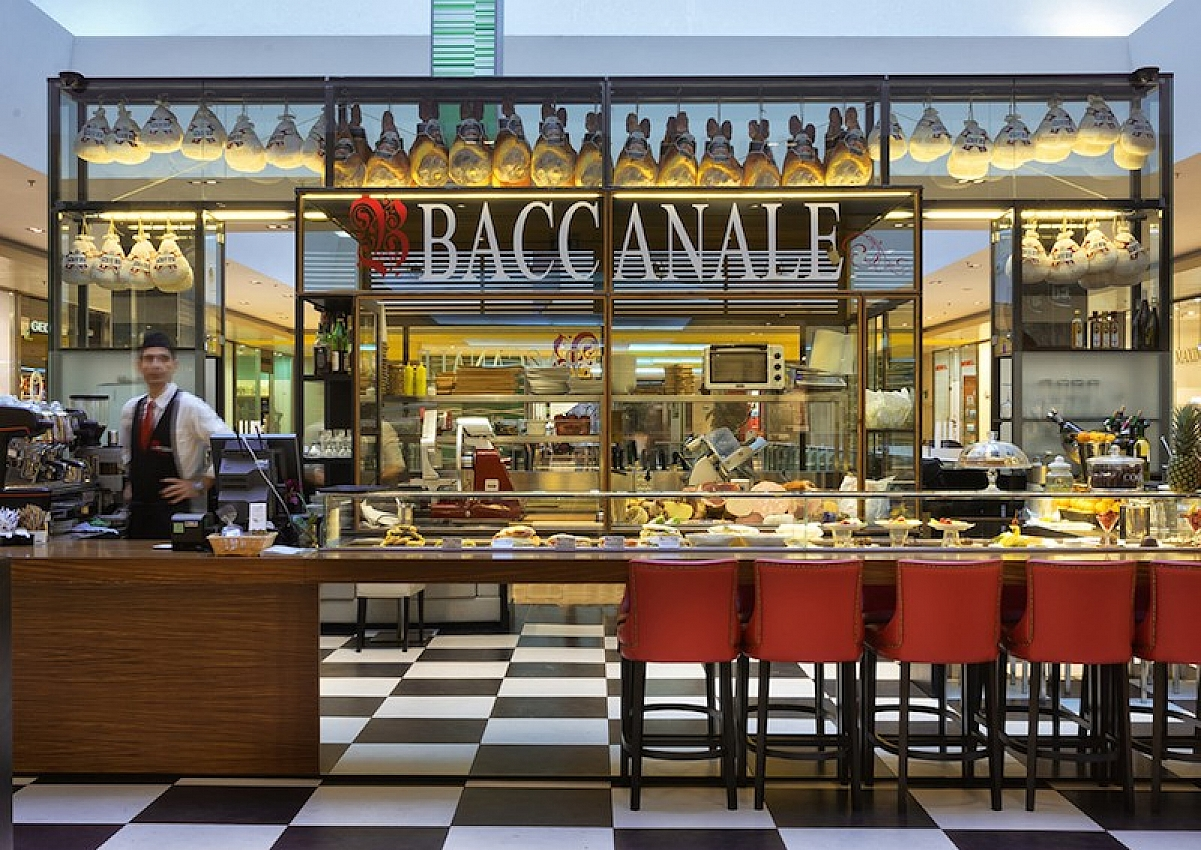 Baccanale The Address Of Luxury Shopping In Baku